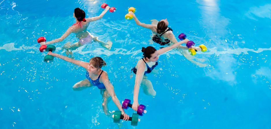 занятия в бассейне для похудения